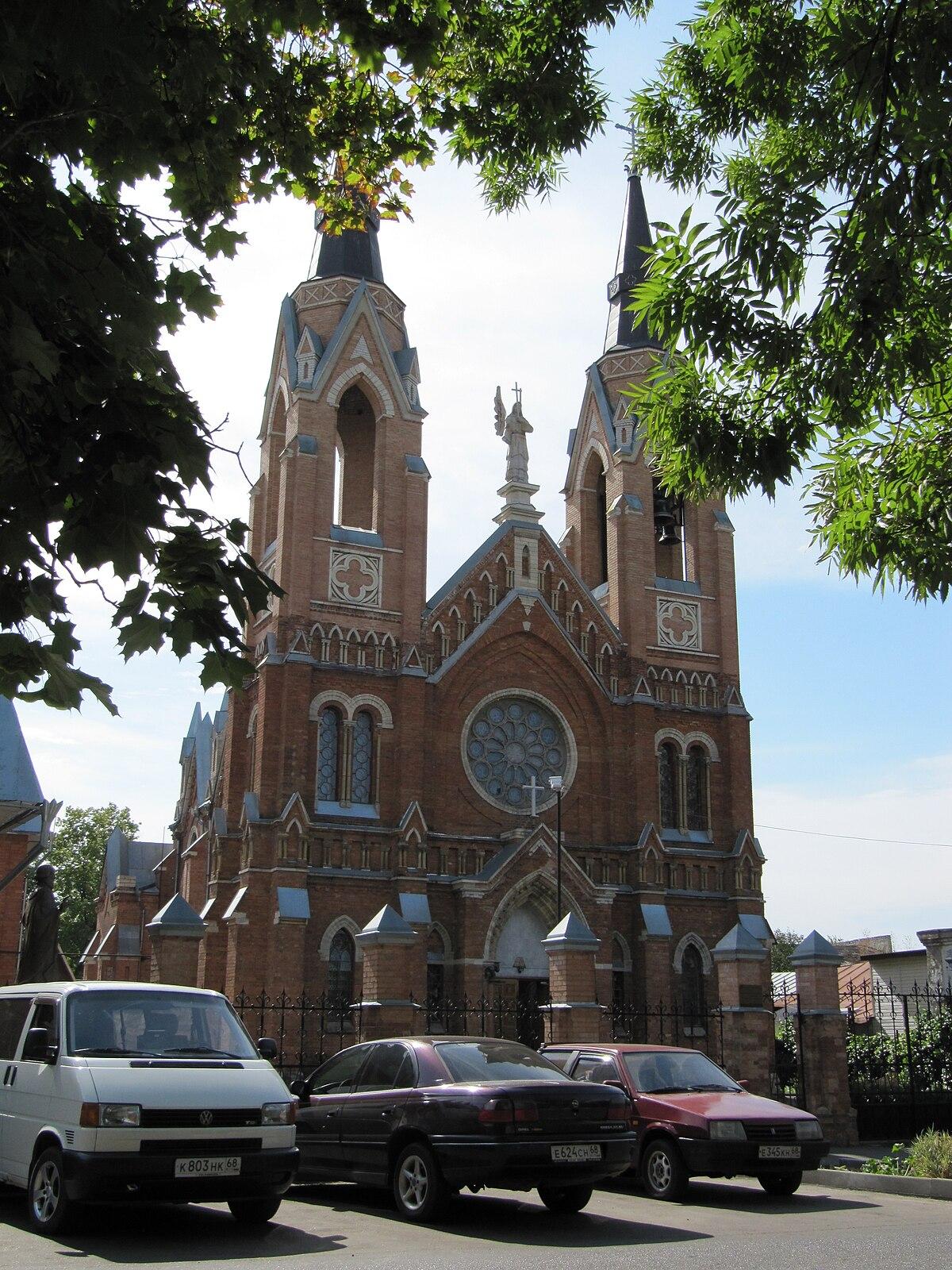 Church of the Exaltation of the Holy Cross Tambov  Wikipedia