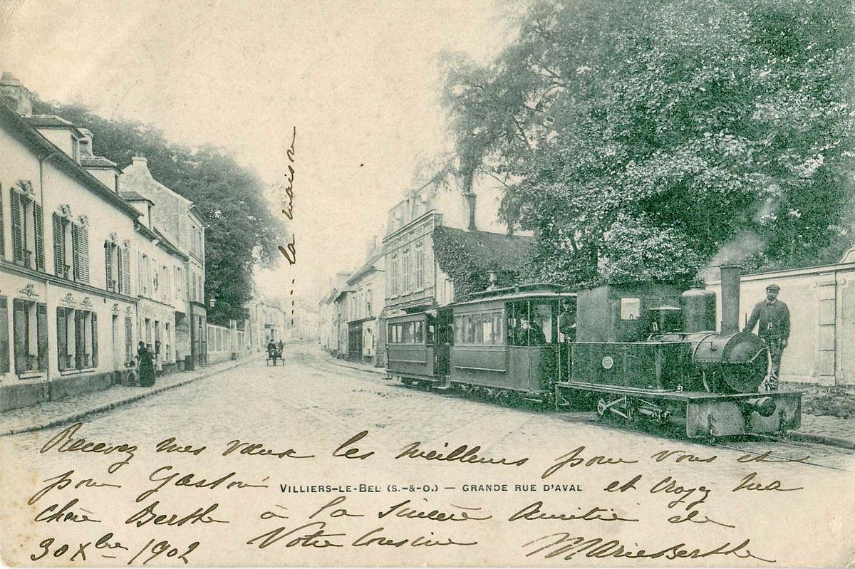 Tramway De Villiers Le Bel Wikipdia
