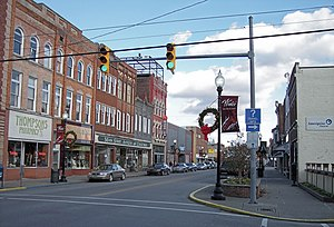 East Main Street in Buckhannon, West Virginia
