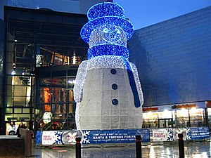 English: Christmas joy at the Xscape, Braehead