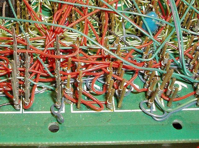 http://en.wikipedia.org/wiki/Wire_wrap