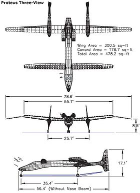 Scaled Composites Proteus — Wikipédia