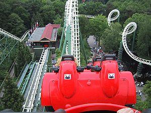 Efteling - Pyhon achtbaan