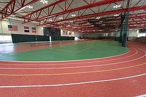 English: Harvard University Gordon Indoor Track