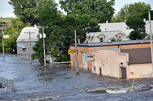 MINOT, North Dakota — High water as in Minot, ...