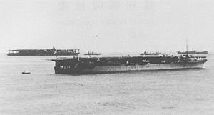 Imperial Japanese Navy aircraft carriers Hōshō...