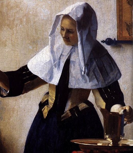 File:Johannes Vermeer - Young Woman with a Water Jug (detail) - WGA24664.jpg