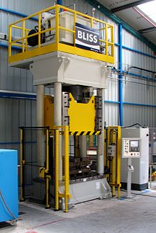 hydraulic press wikipedia
