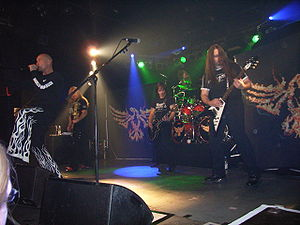 English: Primal Fear Live at Hirsch in Nurembe...