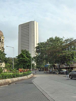 The RBI's new headquarters in Mumbai