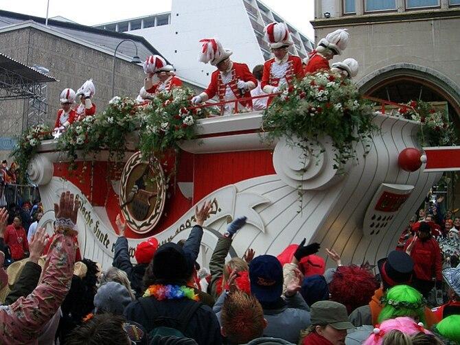 Wagen der Roten Funken, Rosenmontagszug 2006