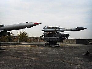 Deutsch: S-200 Raketen im Luftwaffenmuseum Ber...