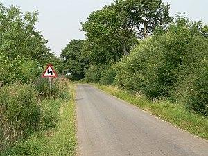 The Road from Wressle to Foggathorpe, south ea...