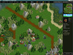 A Battle for Wesnoth screenshot.