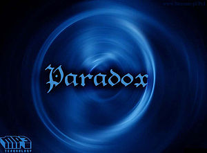 English: paradox Polski: paradox
