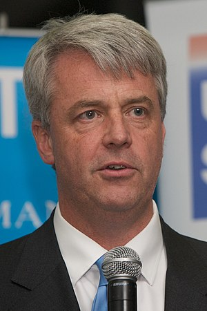 Andrew Lansley, British politician and Shadow ...