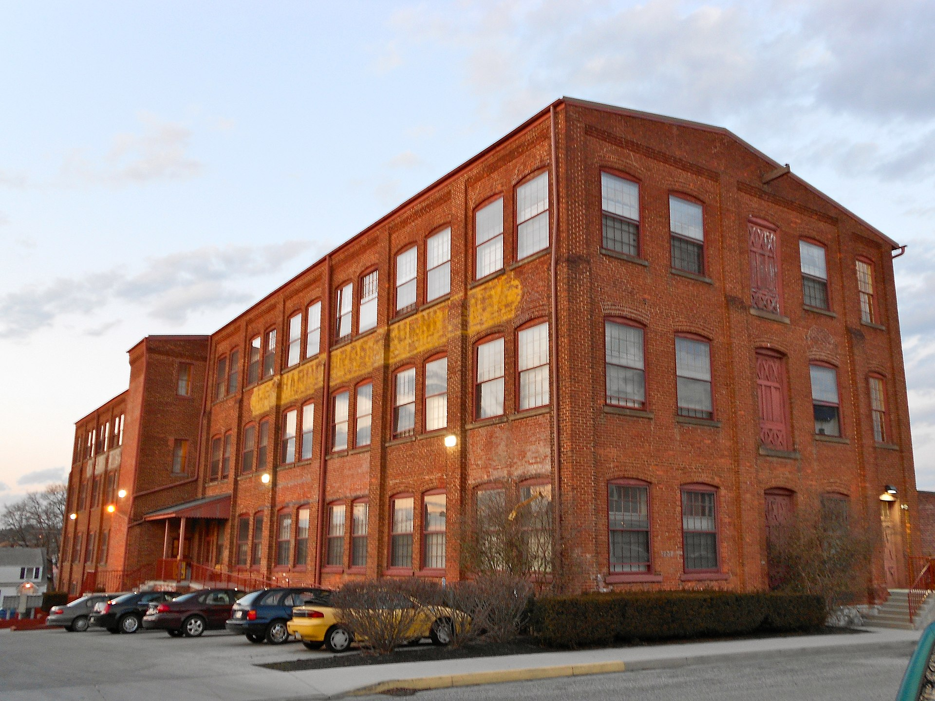 Ashley and Bailey Company Silk Mill  Wikipedia