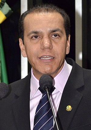 Português: Senador suplente do Brasil Ataídes ...