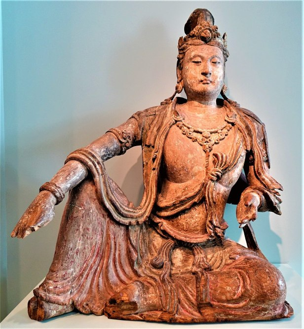 Bodhisattva Avalokiteshvara - Guanyin - - Joy of Museums - Asian Art Museum - San Francisco