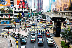 Bukit bintang from kl monorail 2009.jpg