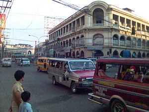 The Old Calle Real (JM Basa Street) in downtow...
