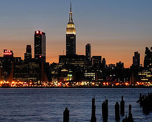 Empire StateBuilding From NJ