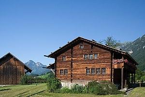 Das Wohnhaus des Bruder Klaus in Flüeli-Ranft,...