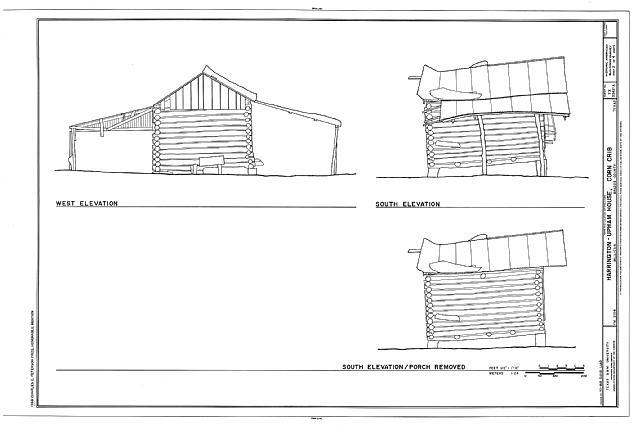 File:Harrington-Upham House, Corn Crib, FM 2154 (Wellborn