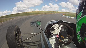 In Car Footage from a Van Diemen RF01 driven b...