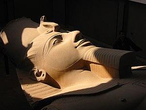 Kolosstatue Ramses II Memphis