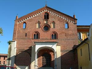 Morimondo facciata