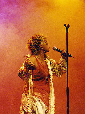 "Neneh Cherry, performing live at the ""Are..."