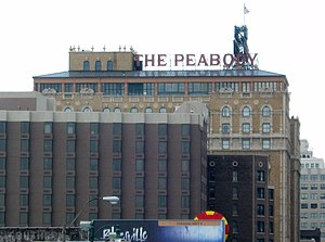 English: Peabody Hotel; Memphis, TN