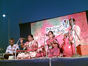 Telling the Ramayana at the Tamil cultural fes...