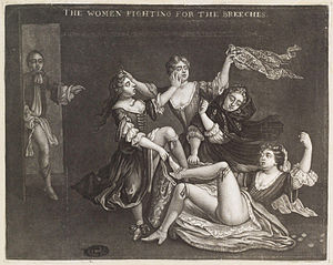 The Women Fighting for the Breeches, by John S...
