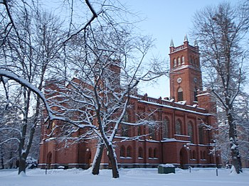 Vaasa Church in Vaasa, Finland Suomi: Vaasan k...
