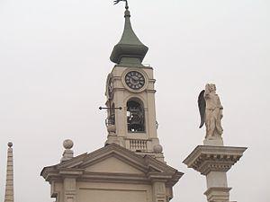 Venaria Reale, Torino. Piazza dell'Annunziata