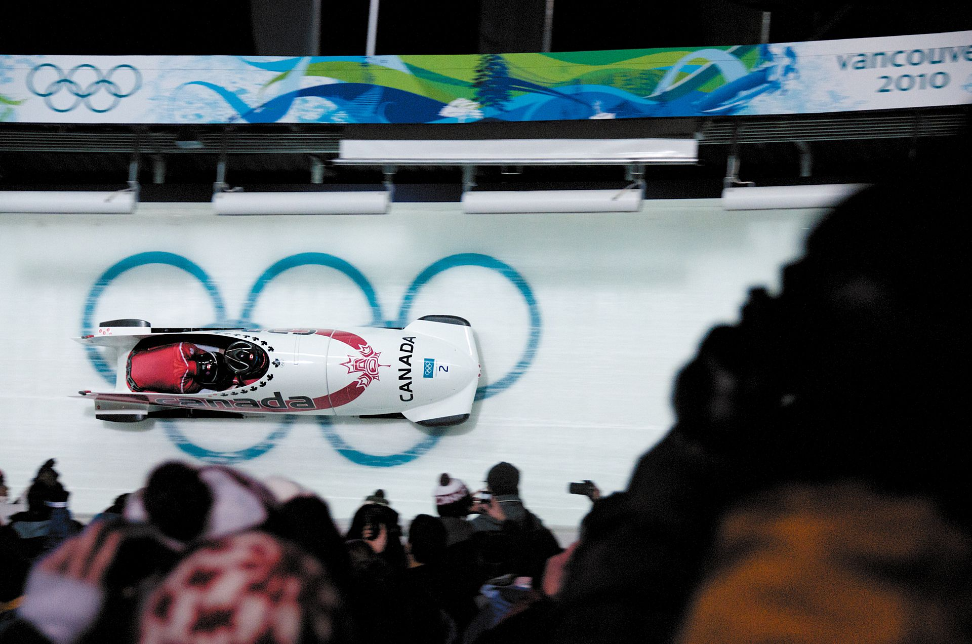 Bobsleigh At The 2010 Winter Olympics Two Woman Wikipedia