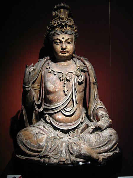 File:Wood Bodhisattva 2.jpg