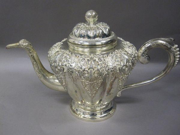 File 71-66- Presentation Silver Teapot Indonesian