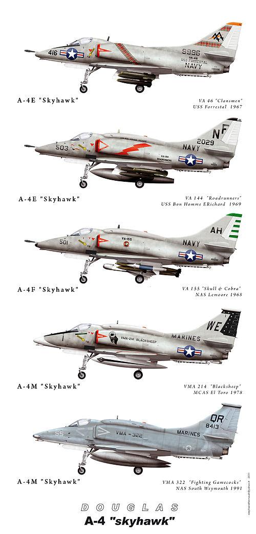 Douglas A-4 Skyhawk : douglas, skyhawk, Douglas, Skyhawk, Wikiwand