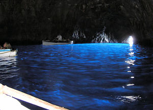 Blue grotto in capri arp