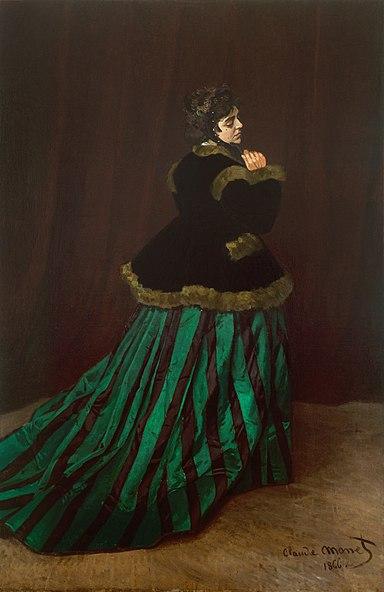 Camille - Claude Monet - 1866