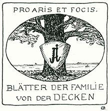 Von der Decken family