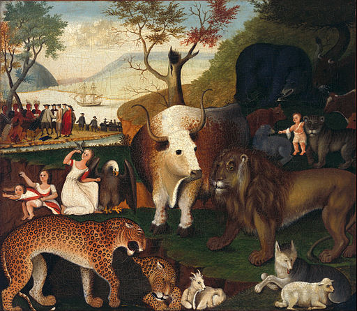 Edward Hicks - The Peaceable Kingdom