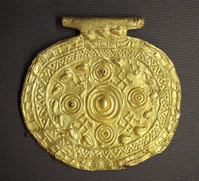 File:Etruscan pendant with swastika symbols Bolsena Italy 700 BCE to 650 BCE.jpg