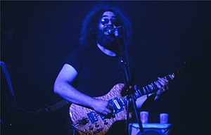 Taken in New Haven, CT. Jerry Garcia WPLR Show