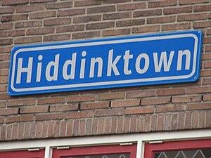 Hiddinktown, Varsseveld (Netherlands) named to...