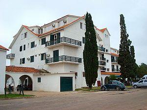 English: The Hotel Casino of Carmelo, Colonia ...