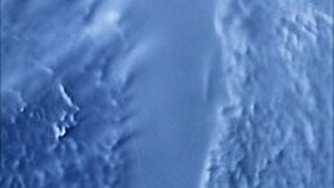 English: RADARSAT image of Lake Vostok, Antartica.